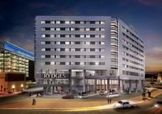 An artists' impression of Rydges Sydney International Airport. @RydgesHotels #RydgesHotels #SydneyHotels #Australia