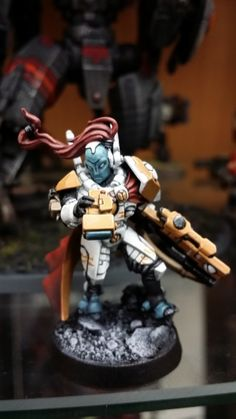 [Project Log] Shas'o Dre's Farsight Enclaves Cadre - Page 5 Tau Warhammer, Warhammer Paint, Warhammer Tabletop, Tau Empire, Sci Fi Models, Warhammer 40k Miniatures, Paint Schemes, Space Marine, Tabletop Games