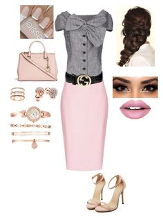 """""""Untitled #163"""" by maddy-whetstone ❤ liked on Polyvore featuring Christian Dior, Topshop, Disney, Fiebiger, Michael Kors, GUESS, EF Collection, Gucci and Anne Klein"""