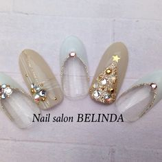 30 Trendy Nails Winter Colors Eyebrows - New Site Christmas Nail Designs, Christmas Nail Art, Christmas Colors, Winter Christmas, Xmas Nails, Holiday Nails, Winter Nail Art, Winter Nails, Fancy Nails