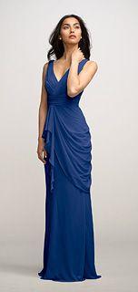 Watters Voilet Bridesmaid Dress in Cobalt