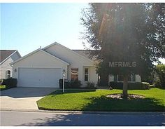 This 3 bedroom ranch at 9120 SE 170th Fontaine St, The Villages, FL 32162 is listed for $189,900.  It sold in April '12 for 184K.  The bond payoff is 4598.  Furniture is available separately and is decorated in blues and yellows.