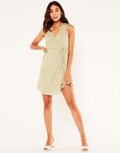 Dress For Short Women, Short Dresses, Tie Dress, Workwear, Party Dress, Stuff To Buy, Outfits, Clothes, Shopping