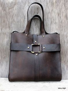 Old World Harness Tote