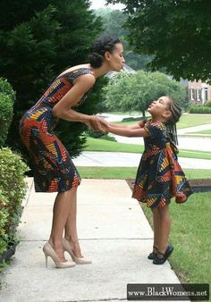 20+ Black women fashion tips for moms and daughters