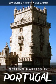 Want a perfect place to tie the knot? Get married in Portugal! Got Married, Getting Married, Visit Portugal, Tower Bridge, Perfect Place, Knot, Europe, Tie, Explore