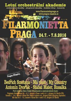 Letní orchestrální akademie Filarmonietta Praga