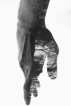 cuando tu silencio se convierte/ en una bestia/ hiper transparente y honesta/ – aquel cantico olvidado/ me has olvidado. #poetry © Andi Bob (photo excrucius.tumblr  via @Atsushi Murata Murata Abe )