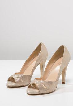 shoes · Femme Jonak Escarpins à bout ouvert - or or  95,00 € chez Zalando 94656c0bb7f4