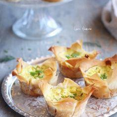 Ricotta and zucchini Easter mini pies Ricotta, Creme Caramel, Mini Pies, Weight Watchers Meals, Zucchini, Baked Potato, Cantaloupe, Appetizers, Favorite Recipes