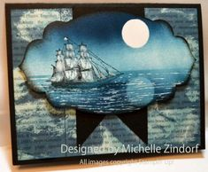 Open Sea Moon Reflection – Stampin' Up! Card - zindorf.blogs.splitcoaststampers.com