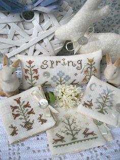 The Little Stitcher: My Sweet Spring