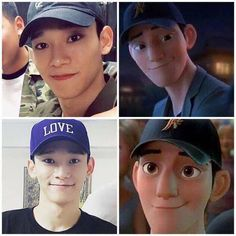 kim #jongdae is the real life version of #tadashi hamada don't argue with me