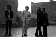 The Beatles during The 'Mad Day Out' photo session by Don McCullin, 28th July 1968.