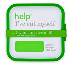 Help Remedies® announces the launch of help I've cut myself & I want to save a life, which supplements Help's standard adhesive bandages with a bone marrow donor registry kit.