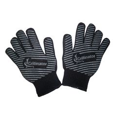 Grill Gloves - The Authentic Grillinator Grill Gloves-The Best 2 Pack Heat Resistant Oven Mitt Set With Non-Slip Silicone Grips for Your BBQ and Kitchen. Grillinator Gloves Come with an Unconditional Guarantee in a Set of 2 for the Pro Grade Hot Surface Handler in Your Life