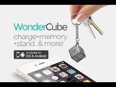 WonderCube: 8 mobile essentials in One Cubic Inch | Indiegogo
