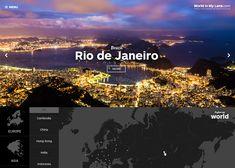 World In My Lens #webdesign #inspiration #UI