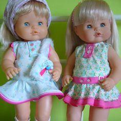 Patrones para muñeco Nenuco para la temporada de primavera verano