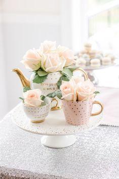 Girls Tea Party, Princess Tea Party, Tea Party Theme, Tea Party Birthday, 3rd Birthday, November Birthday Party, Baby Party, Birthday Party Themes, Birthday Ideas