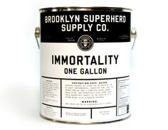 Canned Immortality - Brooklyn Superhero Supply Co.