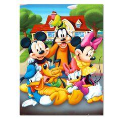 UK Carnival Mickey 5D Full Drill Diamond Painting Embroidery Cross Stitch QW