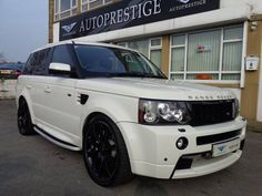 2009 Land Rover Range Rover Sport 3.6 TDV8 TWIN TURBO HSE HST FACTORY WHITE WITH EXTRAS | £25,790