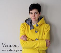 Running With Scissors: Vermont Yellow Jacket McCalls 5525 with a hood