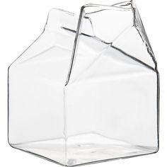 glass creamer