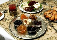 a typical persian breakfast