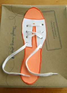 Repinned: Easy way to teach kids how to tie shoes...WHY or WHY haven't I done this with my kids???