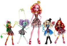 Amazon.com: Monster High Freak du Chic Gooliope Jellington Doll: Juguetes y Juegos