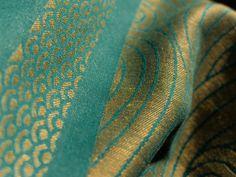 Amazing colour combination: Oscha Kasumi Nahua (50% hemp, 50% cotton)