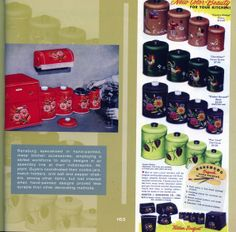 Canister sets from Atomic Kitchen