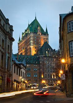 Rue de Fort, Quebec City, Canada