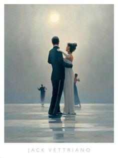 """Another of my favorite paintings: """"Dance Me to the End of Love"""" by Jack Vettriano"""
