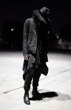 black is beautiful and mysterious!
