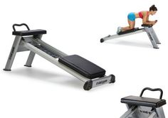 Here is another exercise tool that lets you work your core. The Total Gym Core Trainer engages your core while strengthening your abs. The Core Trainer Weight Lifting Equipment, No Equipment Workout, Workout Gear, Fitness Equipment, Fit Board Workouts, Easy Workouts, At Home Workouts, Total Gym, Home Gym Machine