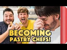 Eric Lanlard is a world class pastry chef. After Mike's eclair experience in Paris he's on a mission to find out how to make them, so heads to Cake Boy with . Eric Lanlard, World Class, Eclairs, Cakes For Boys, Pastry Chef, Laughter, How To Find Out, Challenges, Sweet Stuff