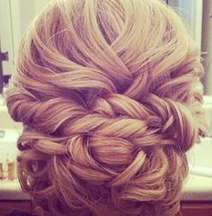Love this do for a wedding!