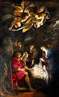 Rubens,Adorazione dei pastori,Palazzo Marino, 3:12:2015 - 12