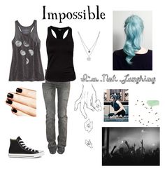"""Lacey Sturm """"Life Screams"""" by rubygirl645 on Polyvore featuring polyvore fashion style American Eagle Outfitters Balmain Dcore Converse Kenneth Cole clothing"""