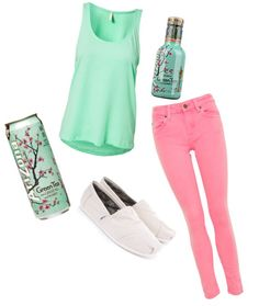 """Arizona Tea"" by numbertxgirl ❤ liked on Polyvore"