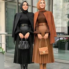 Long Skirt Fashion, Modest Fashion Hijab, Modern Hijab Fashion, Modesty Fashion, Hijab Fashion Inspiration, Islamic Fashion, Muslim Fashion, Girls Fashion Clothes, Fashion Outfits