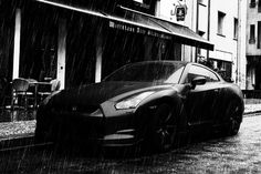 Matte Black GT-R