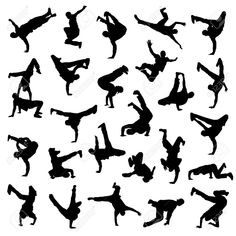 free silhouette performers - Google Search