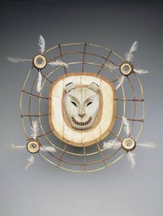 Eskimo; Yup''ik  Creator Name-CRT: United States, Alaska, Yukon River area, Yup''ik Eskimo people  Title: Mask depicting a bear spirit