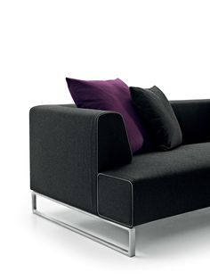 B&B Italia presents three variations with a single theme: the large swivel armchair