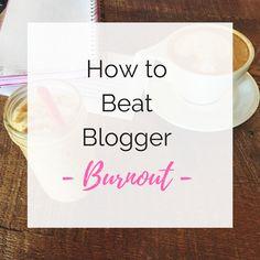 Sweet, Short & Stylish: #BloggerBoss: How to Beat Blogger Burnout