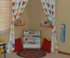 Awesome Ideas For Classrooms, Playrooms And Reading Nooks. #Home #Garden #Musely #Tip